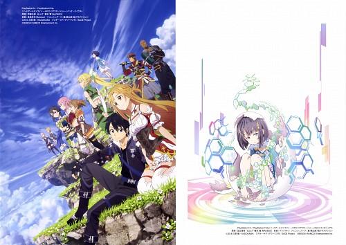 Shingo Adachi, SAO Ordinal Scale Artworks, Sword Art Online, Rika Shinozaki, Andrew Gilbert Mills