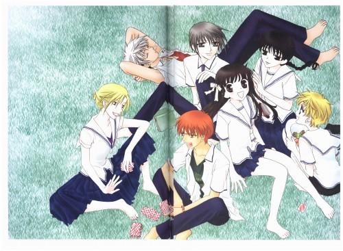 Natsuki Takaya, Fruits Basket, Saki Hanajima, Kyo Sohma, Arisa Uotani