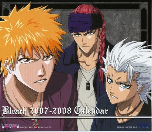 Studio Pierrot, Bleach, Bleach 2007-2008 Calendar, Ichigo Kurosaki, Renji Abarai