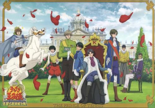 Takeshi Konomi, J.C. Staff, Prince of Tennis, Keigo Atobe, Shusuke Fuji