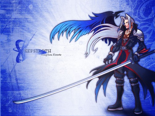 Square Enix, Final Fantasy VII: Advent Children, Final Fantasy VII, Kingdom Hearts, Sephiroth Wallpaper