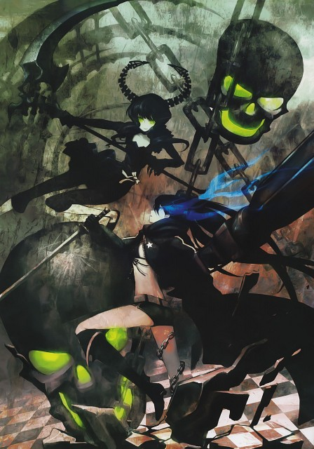 huke, Black Rock Shooter, Black Rock Shooter (Character), Dead Master, Doujinshi