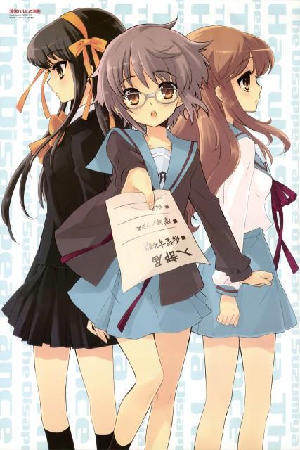 Noizi Ito, Kyoto Animation, The Melancholy of Suzumiya Haruhi, Mikuru Asahina, Haruhi Suzumiya