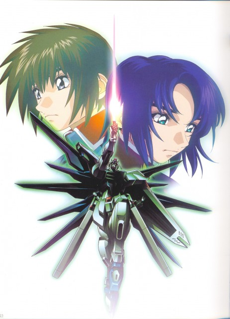 Hisashi Hirai, Sunrise (Studio), Mobile Suit Gundam SEED, Hisashi Hirai Illustration Works, Athrun Zala