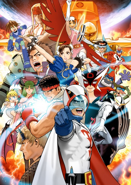 Tatsunoko Production, Capcom, Yatterman, Tekkaman Blade, Tatsunoko Vs. Capcom
