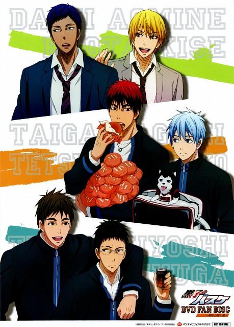 Tadatoshi Fujimaki, Production I.G, Kuroko no Basket, Tetsuya #2, Tetsuya Kuroko