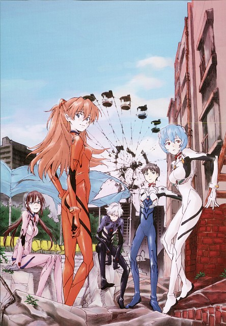 Akemi Hayashi, Gainax, Neon Genesis Evangelion, Kaworu 2015, Rei Ayanami