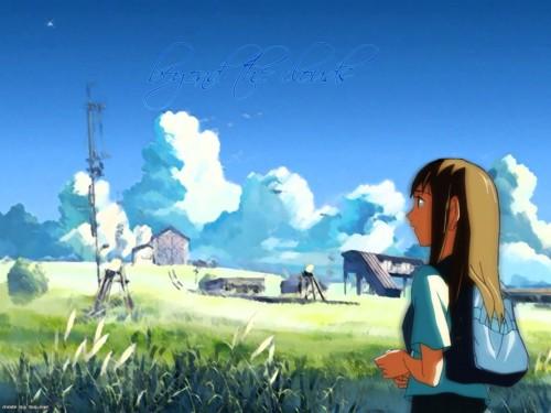 Makoto Shinkai, The Place Promised in Our Early Days, Sayuri Sawatari Wallpaper