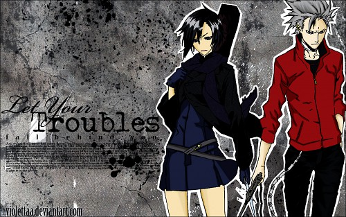 Miwa Shirow, Dogs: Bullets and Carnage, Haine Rammsteiner, Naoto Fuyumine Wallpaper