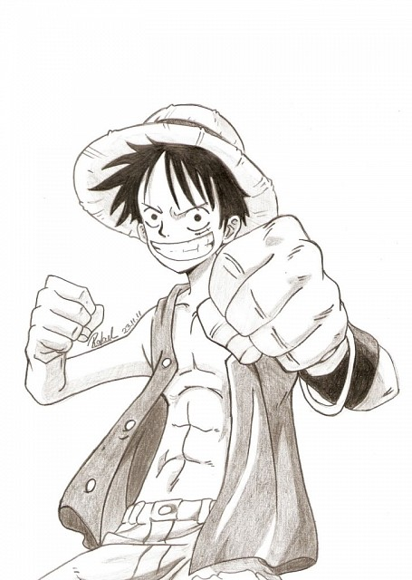 Eiichiro Oda, Toei Animation, One Piece, Monkey D. Luffy, Member Art