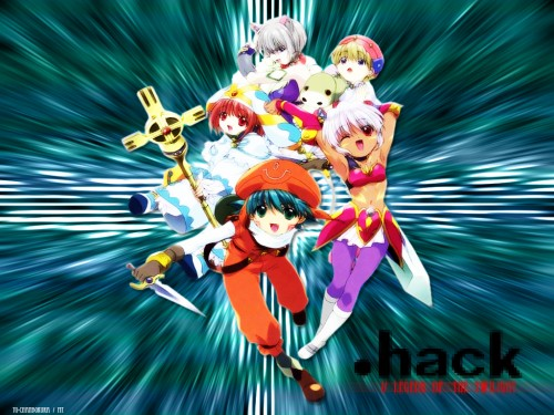 Rei Izumi, Bee Train, .hack//Legend of the Twilight, Grunty, Hotaru (Legend of the Twilight) Wallpaper