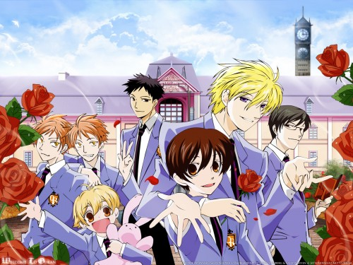 Hatori Bisco, BONES, Ouran High School Host Club, Mitsukuni Haninozuka, Kyoya Ootori Wallpaper