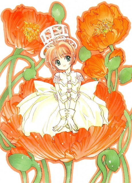 CLAMP, Cardcaptor Sakura, Cardcaptor Sakura Illustrations Collection 1, Sakura Kinomoto