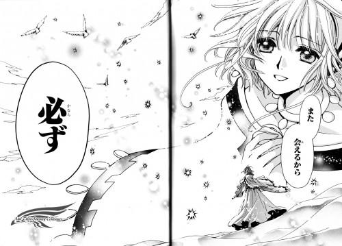 CLAMP, Bee Train, Tsubasa Reservoir Chronicle, Sakura Kinomoto, Chapter Cover
