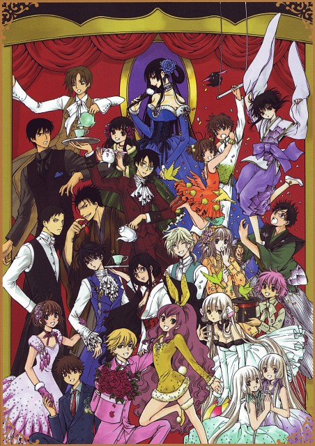 CLAMP, BLOOD-C, Kobato, GATE 7, X