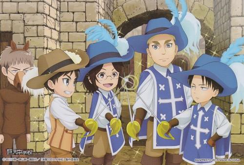 Production I.G, Shingeki no Kyojin, Erwin Smith, Levi Ackerman, Jean Kirschstein