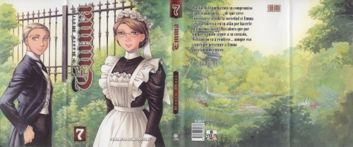 Kaoru Mori, Victorian Romance Emma, Emma (Victorian Romance Emma), William Jones, Manga Cover