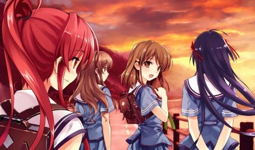 Kurehito Misaki, Deep Blue Sky & Pure White Wings, Hinata Nakano, Kokage Tsuyazaki, Sayoko Koga