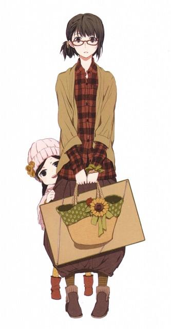 Satsuki Yoshino, Barakamon, Tamako Arai, Hina Kubota, Manga Cover
