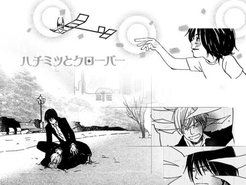 Chika Umino, J.C. Staff, Honey and Clover, Shinobu Morita, Kaoru Morita Wallpaper