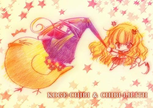 Carnelian, Yami to Boushi to Hon no Tabibito, Ken (YamiBou), Lilith (YamiBou), Kogechibi