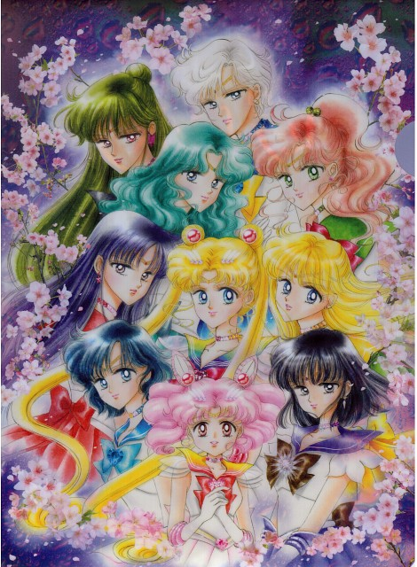 Naoko Takeuchi, Bishoujo Senshi Sailor Moon, Sailor Mars, Sailor Uranus, Super Sailor Chibi Moon