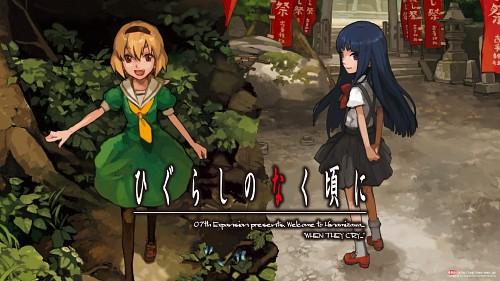 07th Expansion, Higurashi no Naku Koro ni, Rika Furude, Satoko Hojo