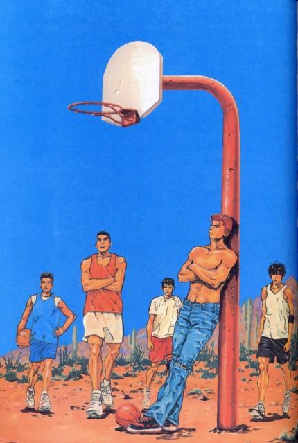 Takehiko Inoue, Slam Dunk, Inoue Takehiko Illustrations, Hanamichi Sakuragi, Hisashi Mitsui