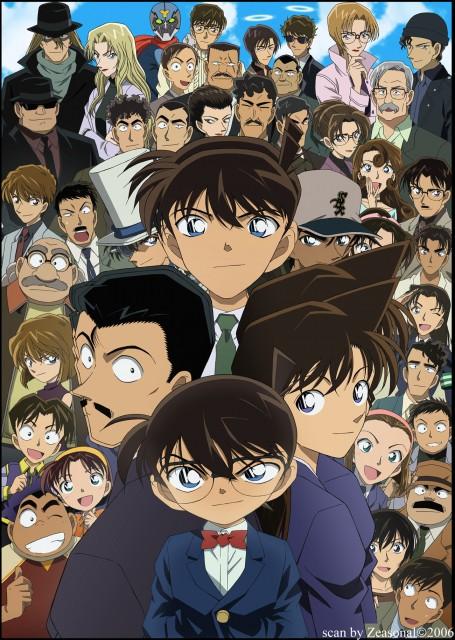 Gosho Aoyama, TMS Entertainment, Detective Conan, Ayumi Yoshida, Makoto Kyogoku