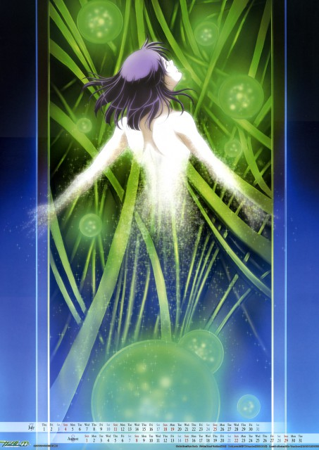Sunrise (Studio), Mobile Suit Gundam 00, Tieria Erde, Calendar