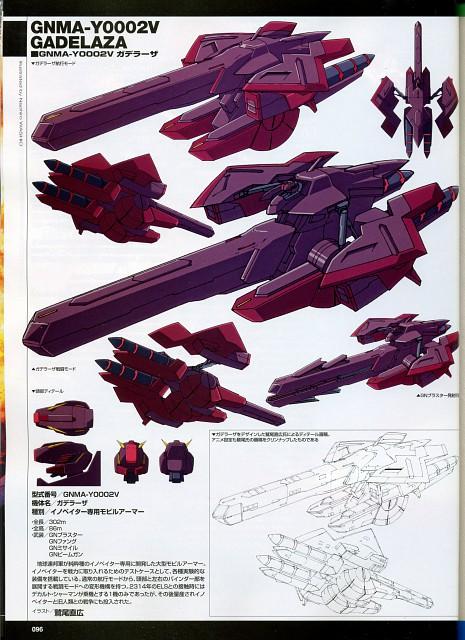 Sunrise (Studio), Mobile Suit Gundam 00, Character Sheet, Vehicle Designs