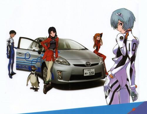 Yoshiyuki Sadamoto, Gainax, Neon Genesis Evangelion, Shinji Ikari, Rei Ayanami