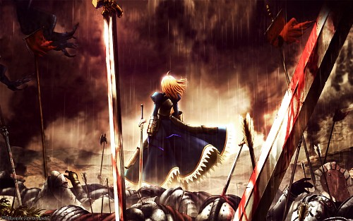 Ufotable, TYPE-MOON, Fate/Zero, Saber, Occupations Wallpaper