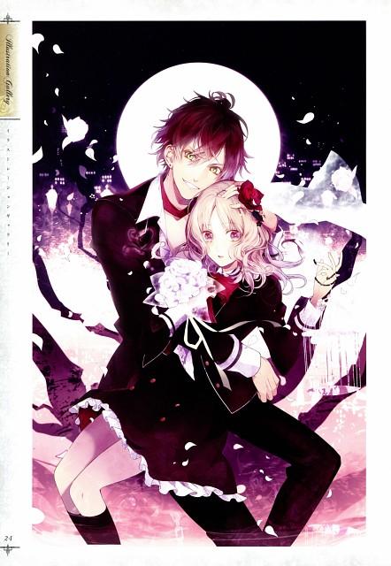 Satoi, Rejet, Zexcs, Idea Factory, Diabolik Lovers Official Visual Fan Book