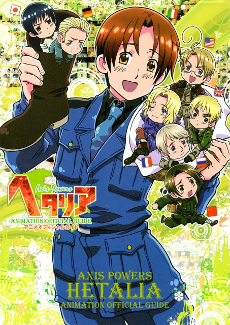 Hidekaz Himaruya, Studio DEEN, Hetalia: Axis Powers, America, China