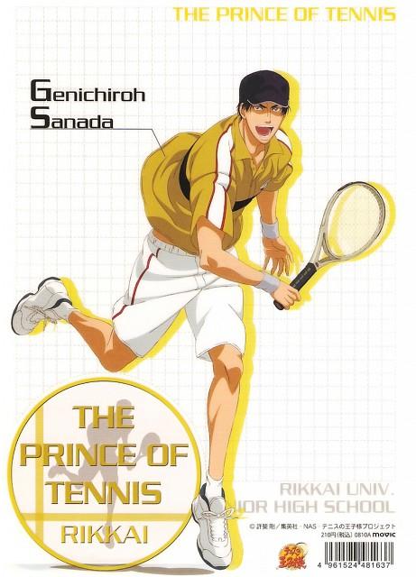 Takeshi Konomi, J.C. Staff, Prince of Tennis, Genichiro Sanada