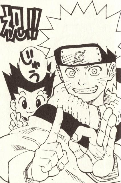 Yoshihiro Togashi, Naruto, Hunter x Hunter, Mina no Sho Fan Book, Naruto Uzumaki