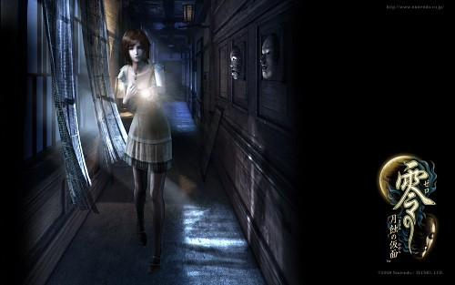 Tecmo, Fatal Frame, Ruka Kunizaki, Official Wallpaper