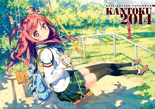Kantoku, Kantoku Self Select Calendar 2014, Kurumi (Kantoku), Calendar