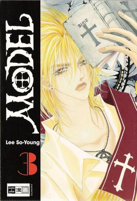 So-Young Lee, Model, Adrian Dubon, Manga Cover