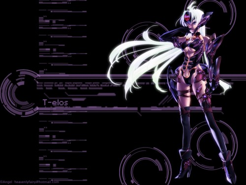 Xenosaga, T-elos Wallpaper