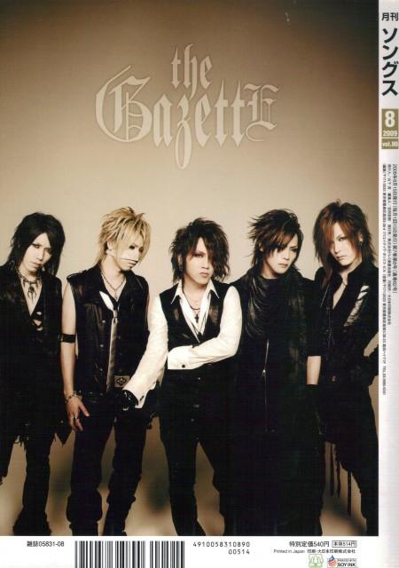 Kai, Ruki, Reita, Aoi (J-Pop Idol), Gazette