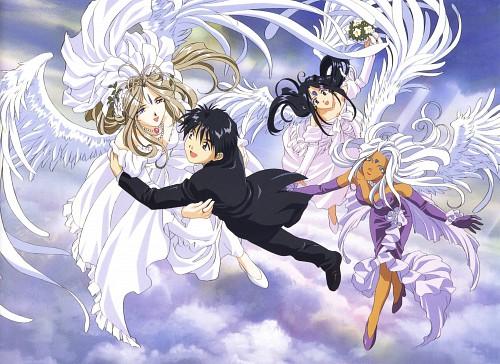 Kousuke Fujishima, Anime International Company, Ah! Megami-sama, Skuld, Keiichi Morisato