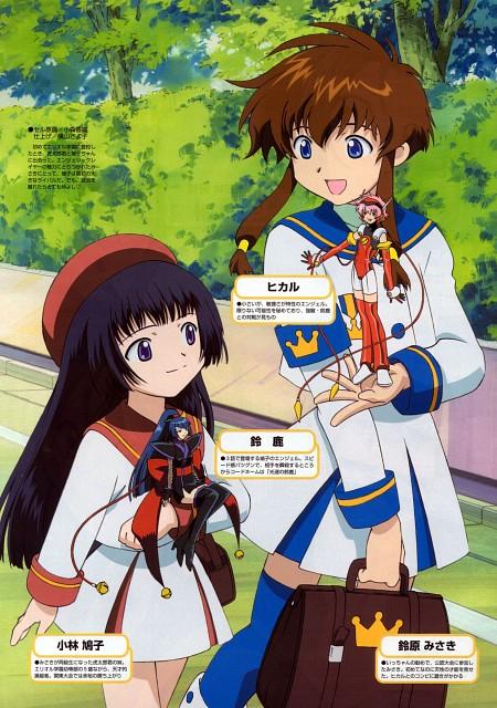 BONES, Angelic Layer, Misaki Suzuhara, Suzuka (Angelic Layer), Hikaru (Angelic Layer)