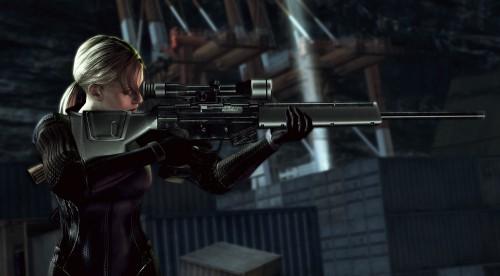 Capcom, Resident Evil 5, Jill Valentine, Official Digital Art