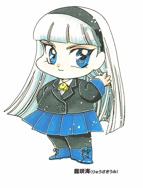 CLAMP, TMS Entertainment, Magic Knight Rayearth, Umi Ryuuzaki