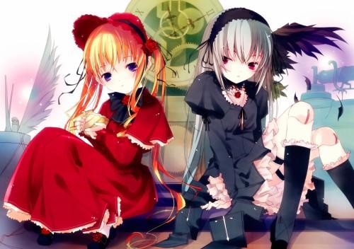Ruroo, Rozen Maiden, Shinku, Suigintou