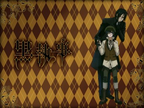 Yana Toboso, A-1 Pictures, Kuroshitsuji, Ciel Phantomhive, Sebastian Michaelis Wallpaper