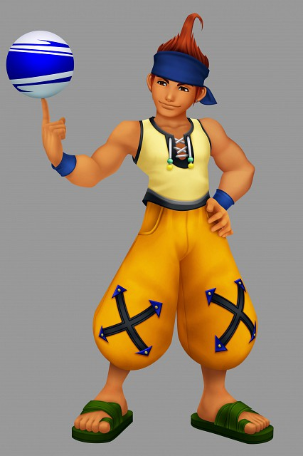 Square Enix, Kingdom Hearts, Wakka