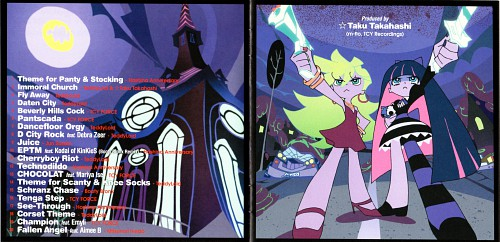 Gainax, Panty and Stocking with Garterbelt, Panty Anarchy, Stocking Anarchy